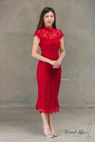 Red Qipao - The Formal Affair