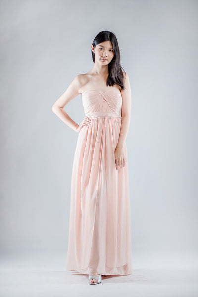 Aidan Dress in Old Rose