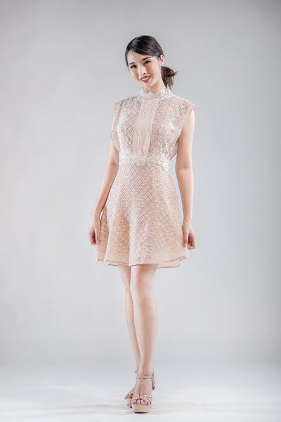 Sandro Lace Dress - The Formal Affair