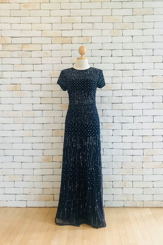 Natasha Dress in Navy