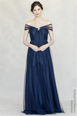 Annabelle Dress in Navy