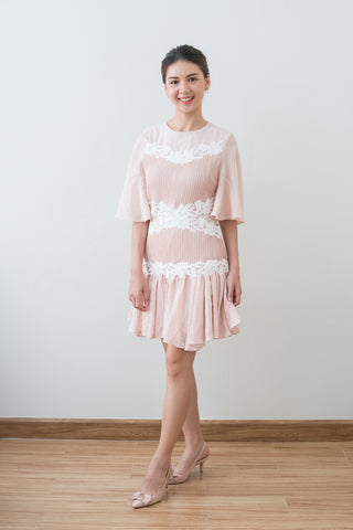 Short Keepsake Dress in Pink
