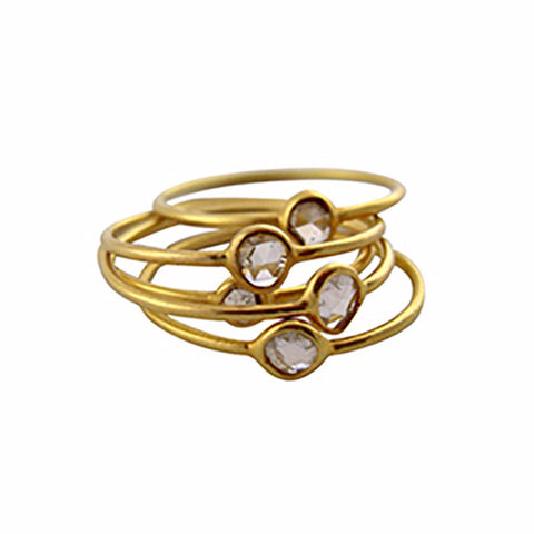 14kt Gold Stacker Ring