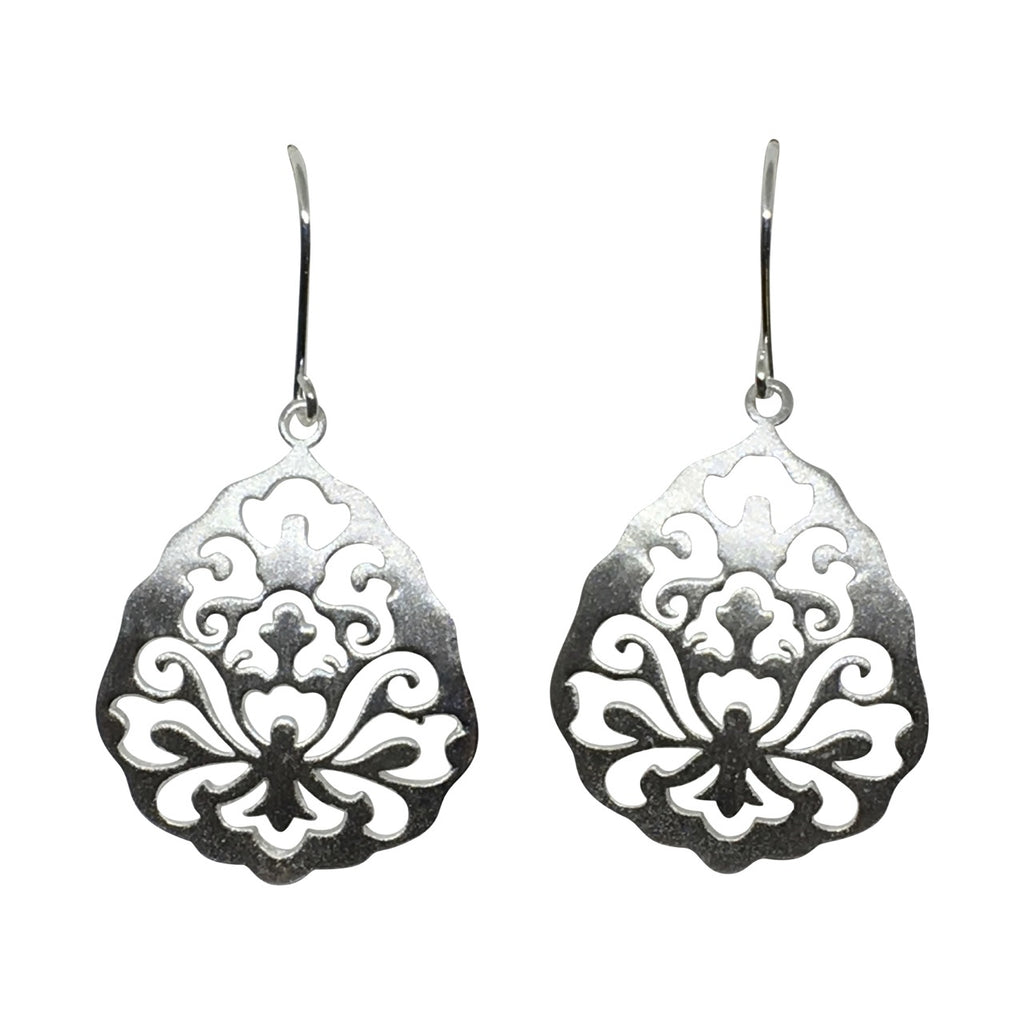 Silver Capri earrings