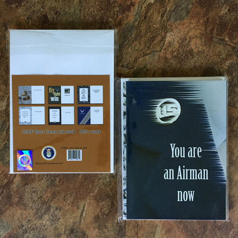2MyHero USAF mixed six pack of greeting cards