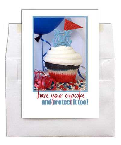 2MyHero Birthday card for US Coast Guard - Protected