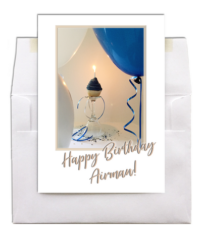 USAF Birthday - Style military birthday greeting card - 2MyHero