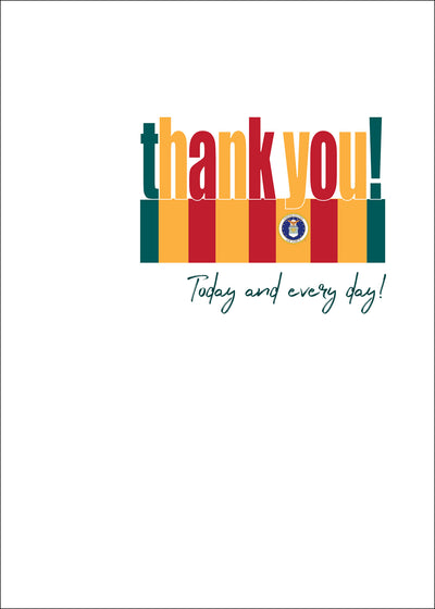 USAF Veteran's Day Greeting Card - Vietnam - Wholesale - 2MyHero