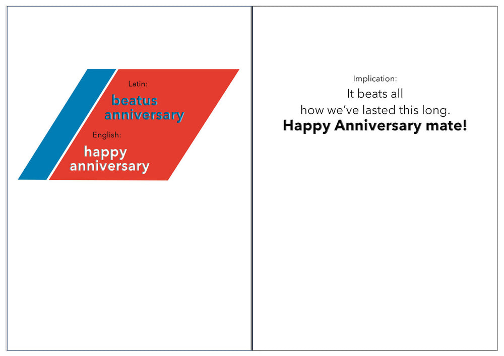 Anniversary - Latin - Coast Guard wedding anniversary greeting card - 2MyHero