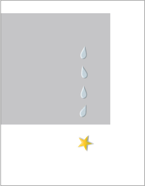 Gold Star - Tears  - military sympathy greeting card - 2MyHero