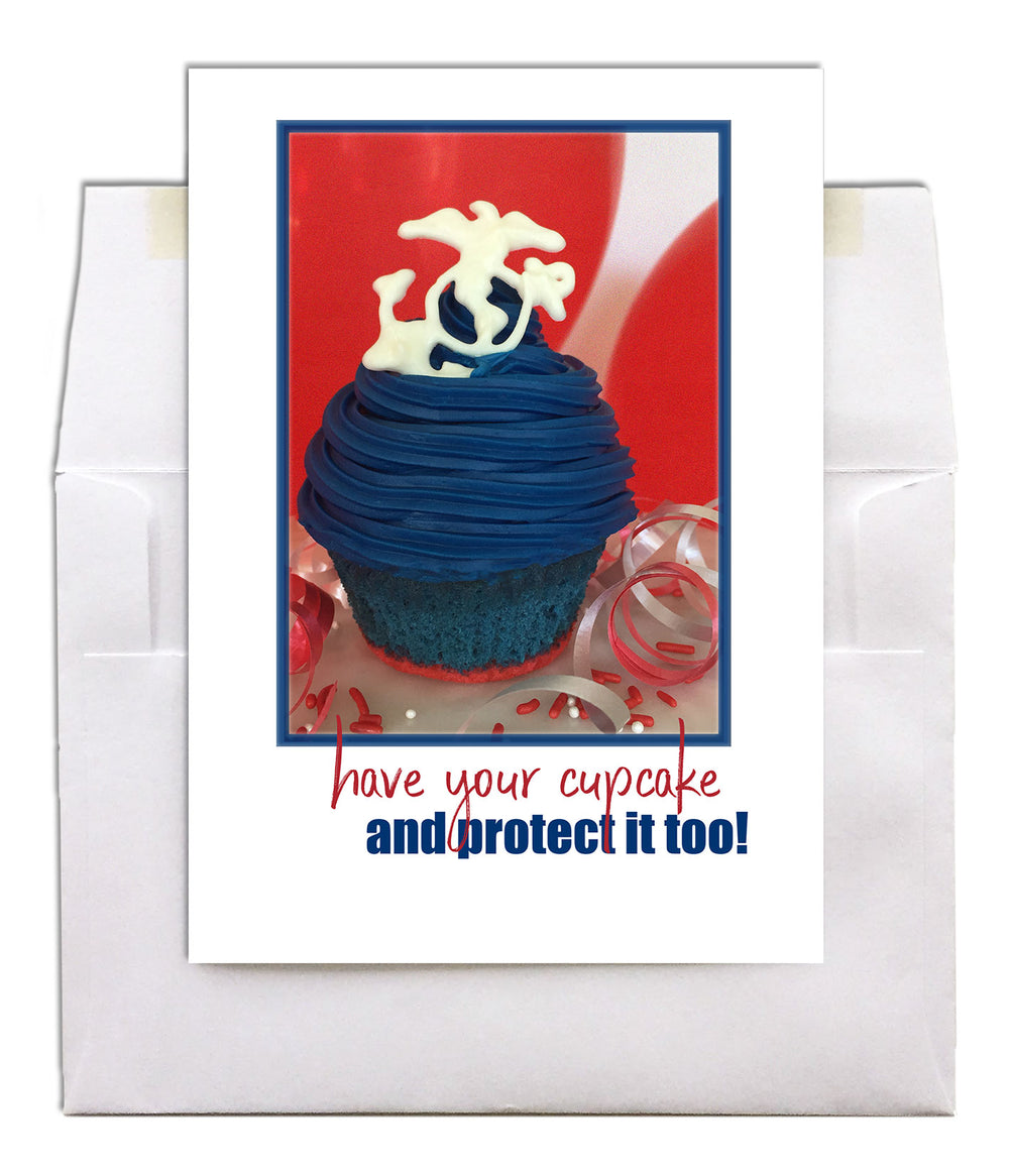 USMC Birthday - Protected military birthday greeting card - wholesale - 2MyHero