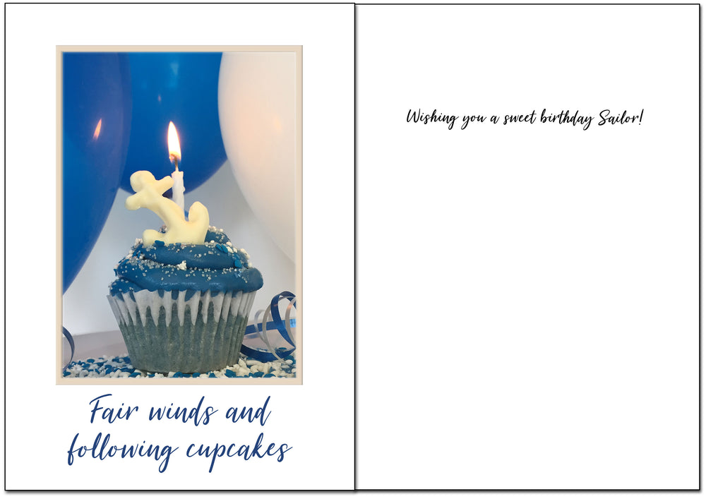 USN Birthday - Sweet military birthday greeting card - wholesale - 2MyHero