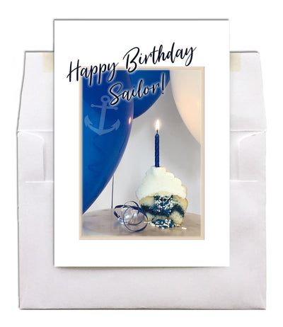 USN Birthday - Style military birthday greeting card - wholesale - 2MyHero