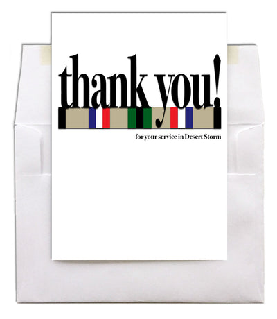 Veteran's Day military greeting card - Say what you mean! - Gulf War - wholesale - 2MyHero