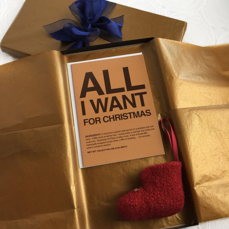 Military Christmas gift set - All I Want - 2MyHero