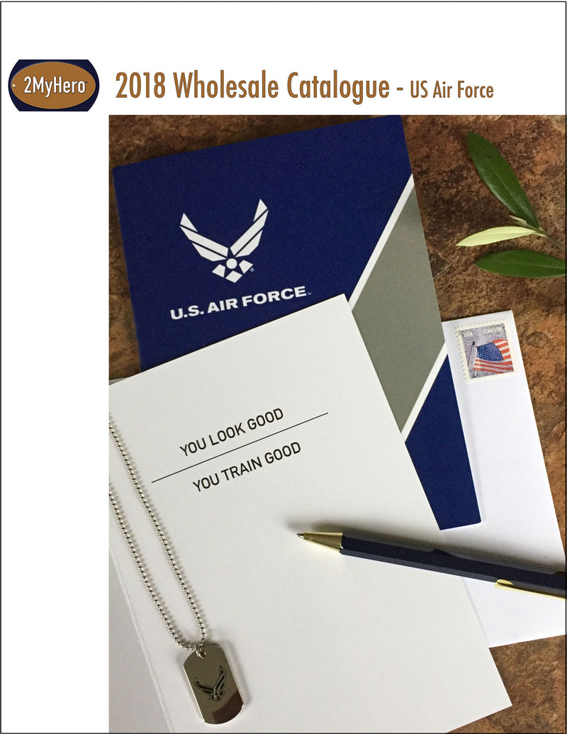 Catalogue for US Air Force wholesale customers - 2MyHero