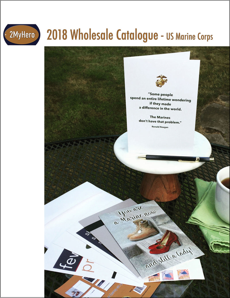 Catalogue for US Marine Corps wholesale customers - 2MyHero