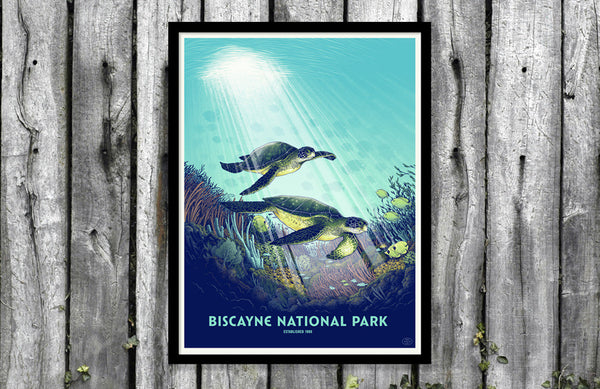 They're Here! The 59PS Biscayne National Park Posters