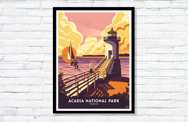 They're Here: The 59PS Acadia National Park Posters!