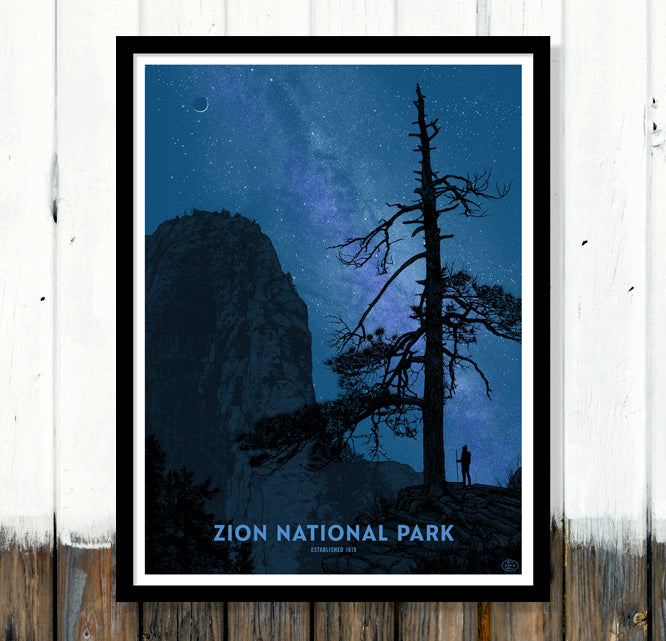59PS Dan McCarthy Zion Limited Edition Wall Crop