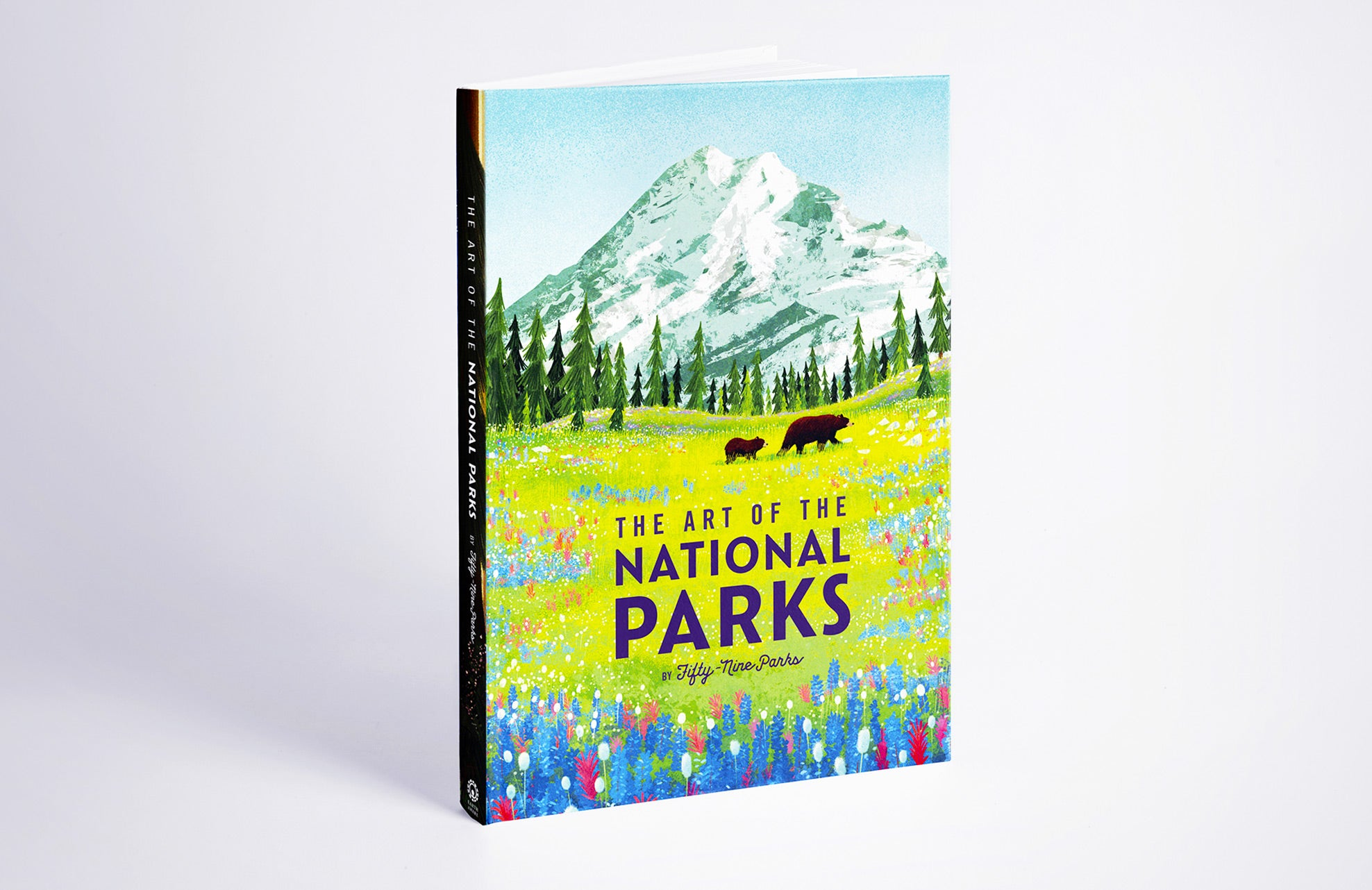 art of the national parks by fifty-nine parks book cover