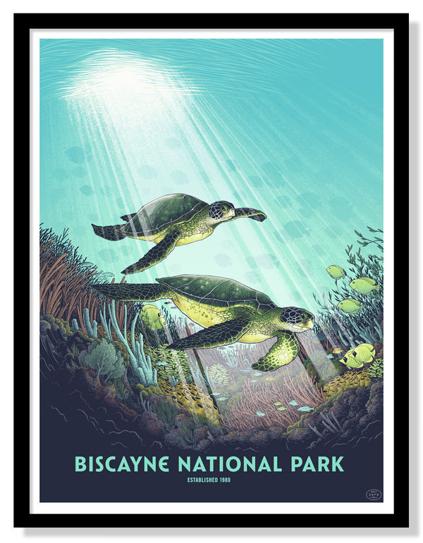 Biscayne National Park Poster (Large)