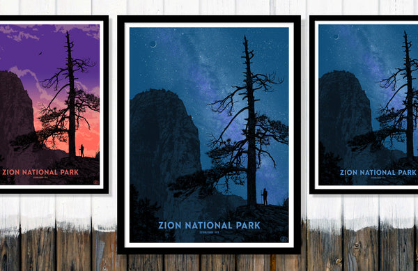Zion National Park Poster (Large)