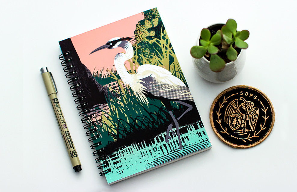 Fifty-Nine Parks  Notebook