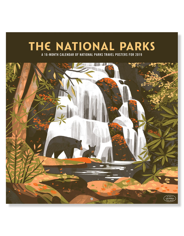 Fifty-Nine Parks Calendar (2019)