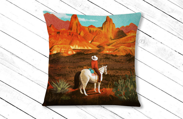 Big Bend National Park Pillow (Shipping Included)