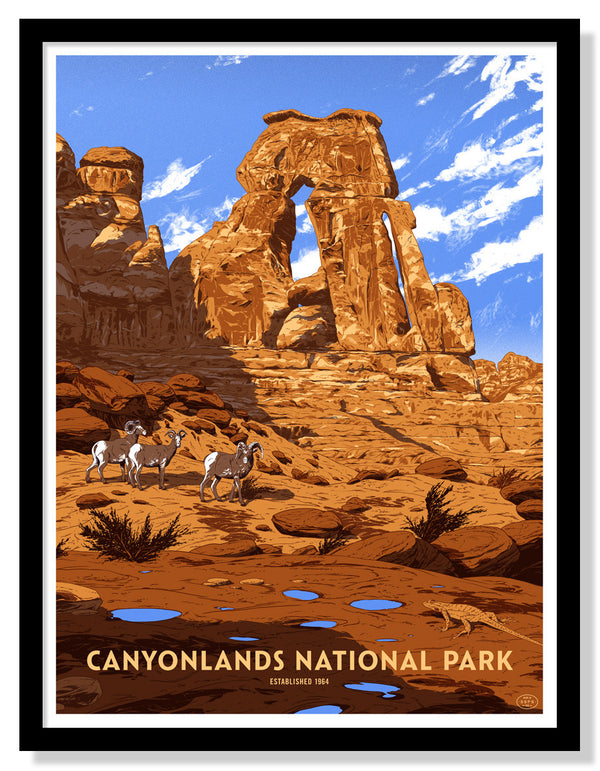 Canyonlands National Park Poster (Large Timed Edition)