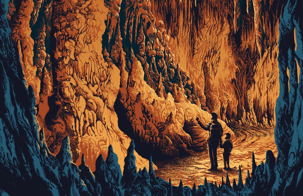 Carlsbad Caverns National Park Poster