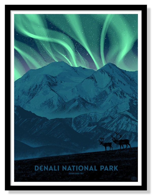 Denali National Park (Large Timed Edition)