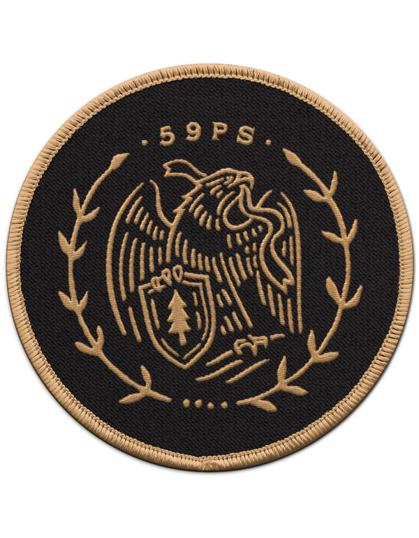 "Fifty-Nine Parks 3"" Patch"