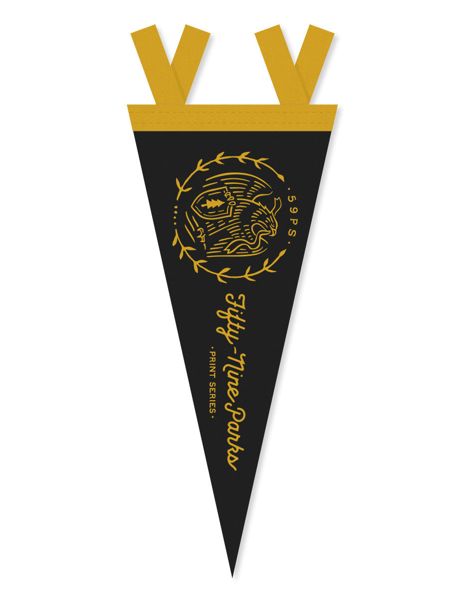 Fifty-Nine Parks Pennant