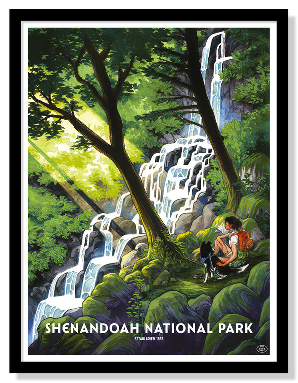 Shenandoah National Park Poster (Large Timed Edition)