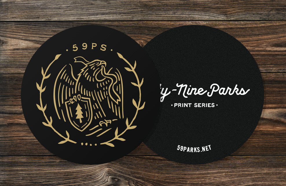Fifty-Nine Parks Sticker