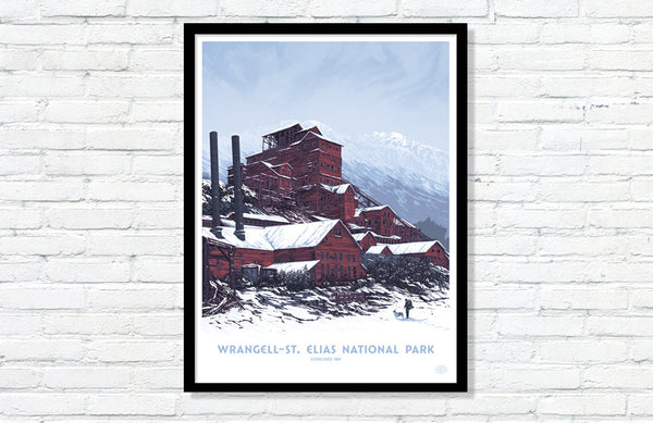 Wrangell — St. Elias National Park Poster