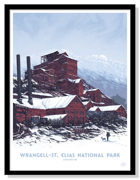 Wrangell — St. Elias National Park Poster (Large Timed Edition)