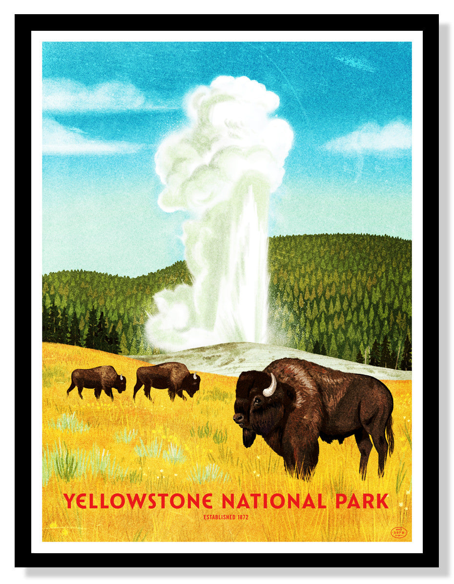 Yellowstone National Park (Large Timed Edition)