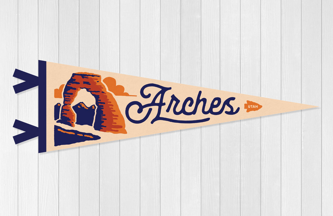 Arches National Park Pennant