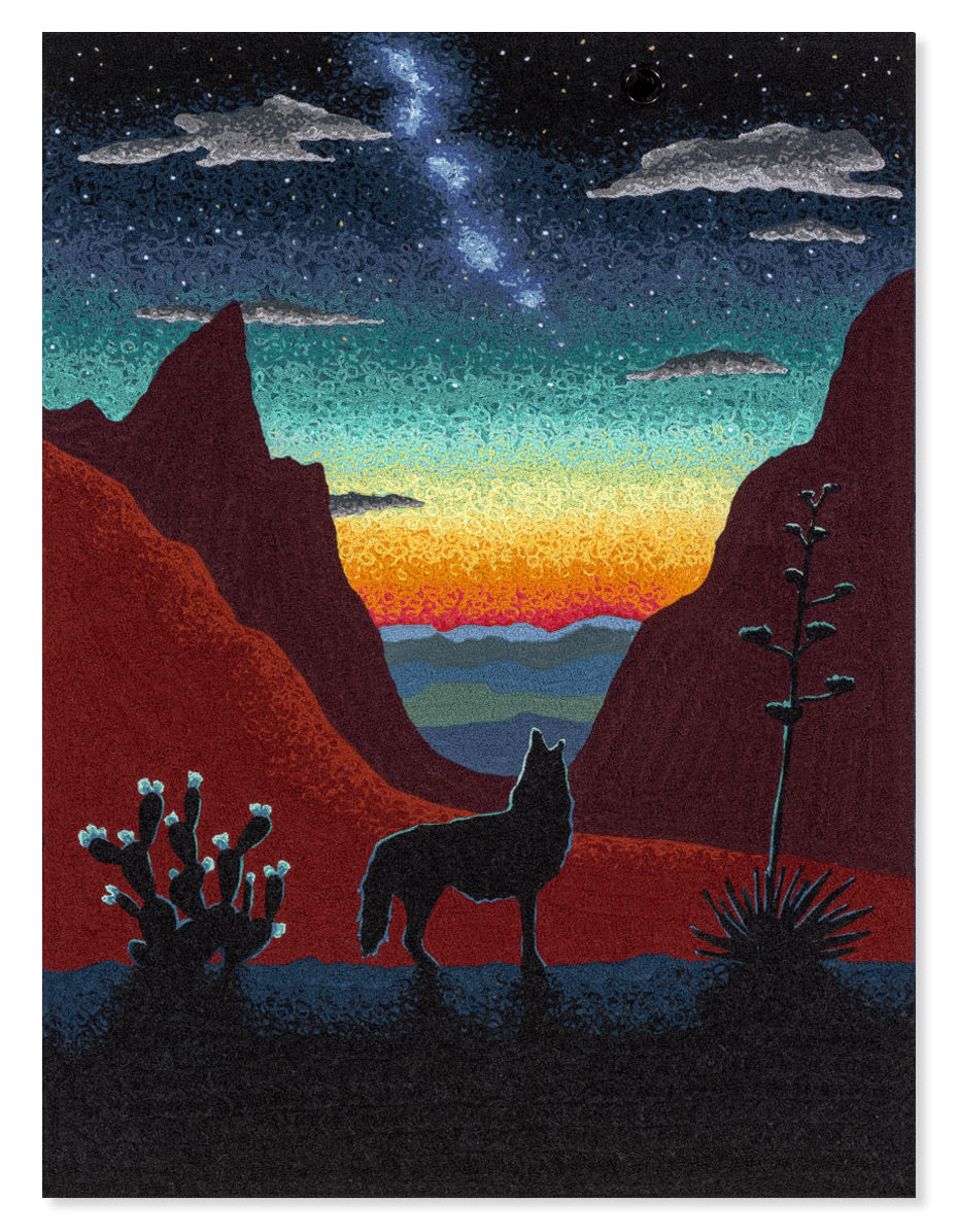 Big Bend National Park (Original Fabric Piece)