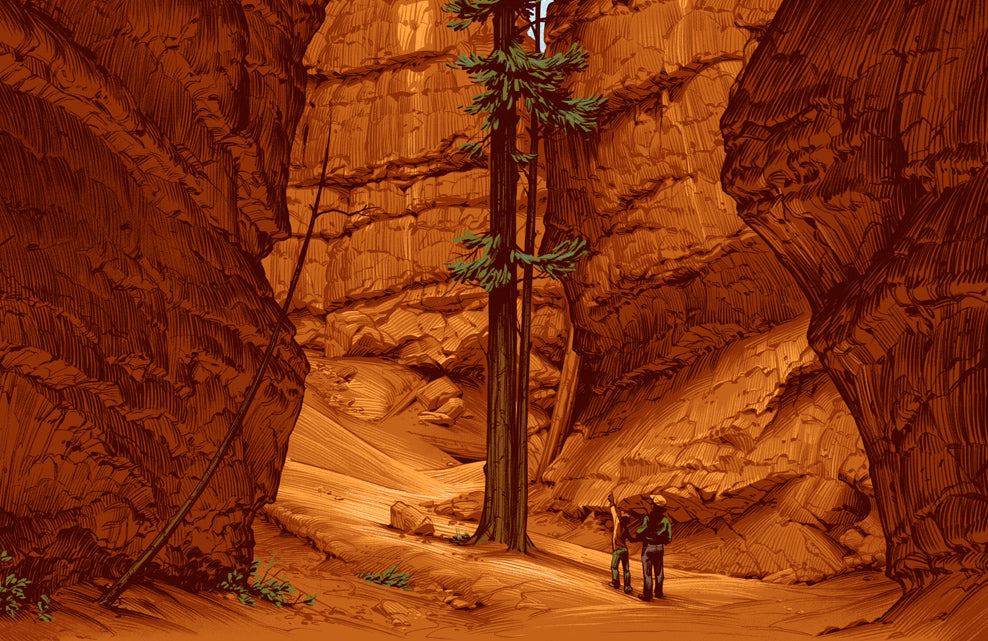Bryce Canyon National Park Poster (Large Timed Edition)