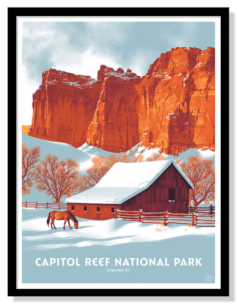 Capitol Reef National Park (Large Timed Edition)