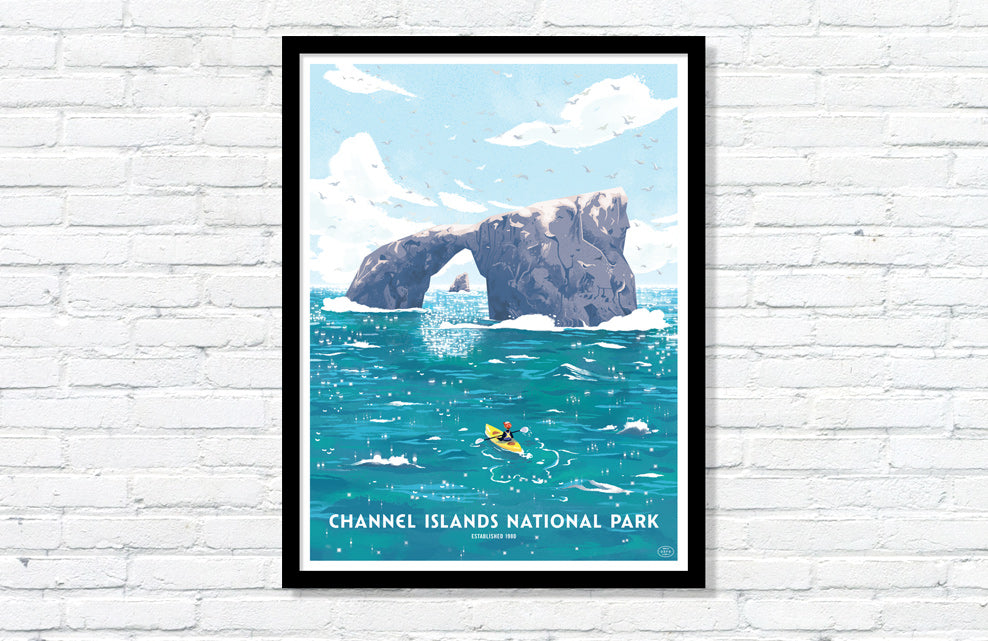 Channel Islands National Park Poster (Large Timed Edition)