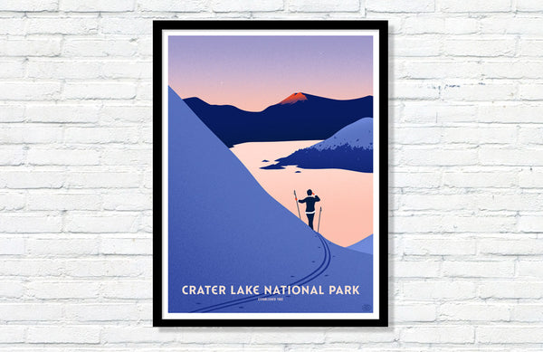 Crater Lake National Park Poster (Variant)