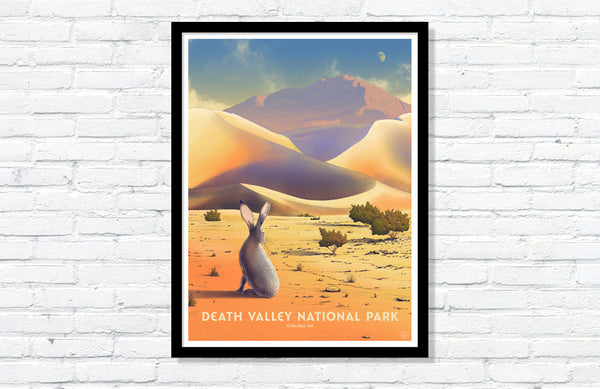 Death Valley National Park Poster (Large Timed Edition)