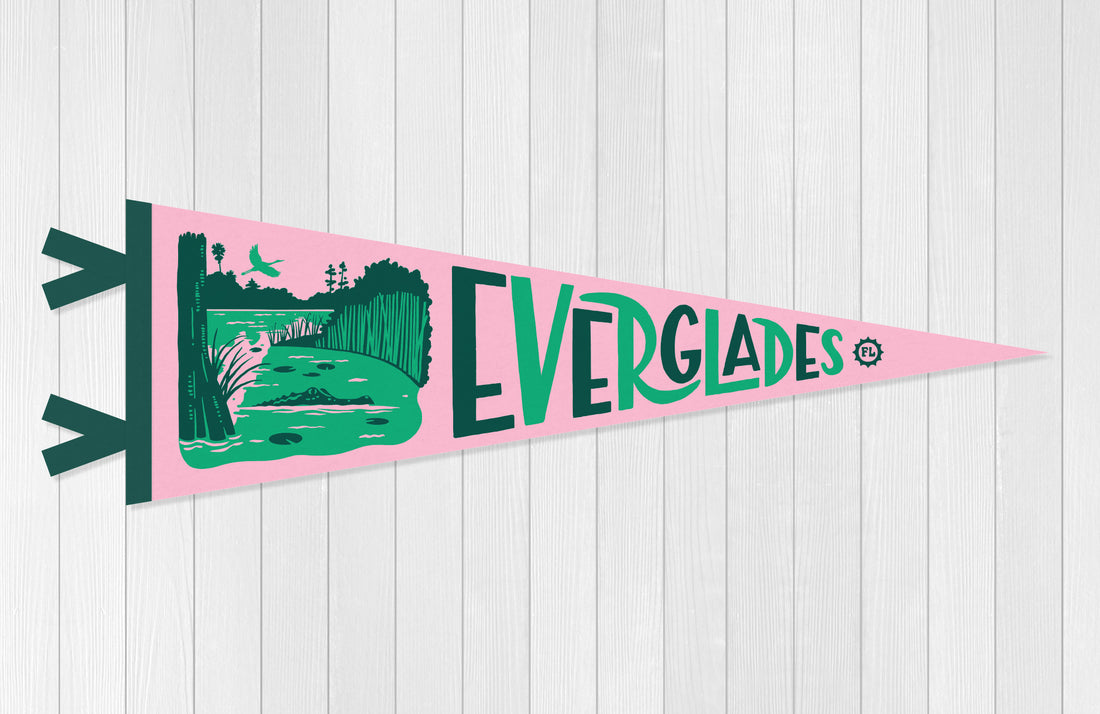 Everglades National Park Pennant