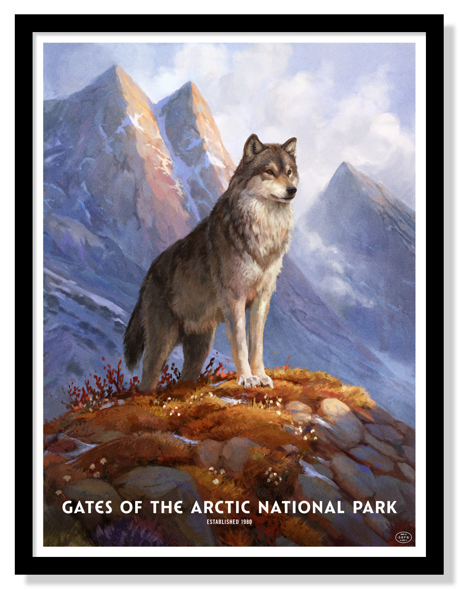 Gates of The Arctic National Park Poster