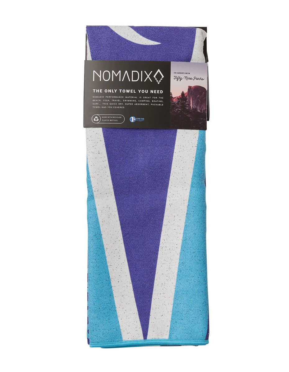 Glacier National Park Nomadix Towel (Flag)